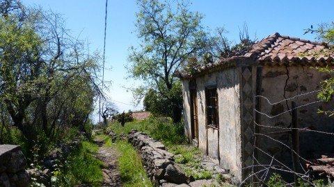 La Palma Wanderung,Tijarafe,altes Haus