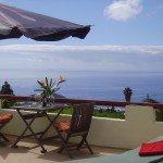 La Palma Ferienwohnung Terrasse Ausblick