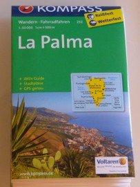 La Palma Wanderkarte Kompass 232 2014/12