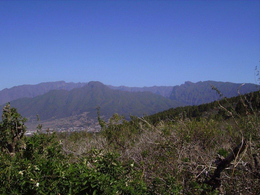 La-Palma,Wandern,Ausblick.