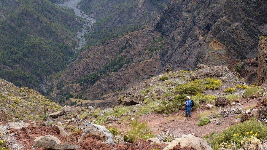 Auf-dem-Wanderweg-GR-131-zum-Roque-de-los-Muchachos