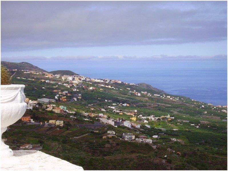 La Palma Wandertipps, Ausblick auf die Küstenwanderungsstrecke