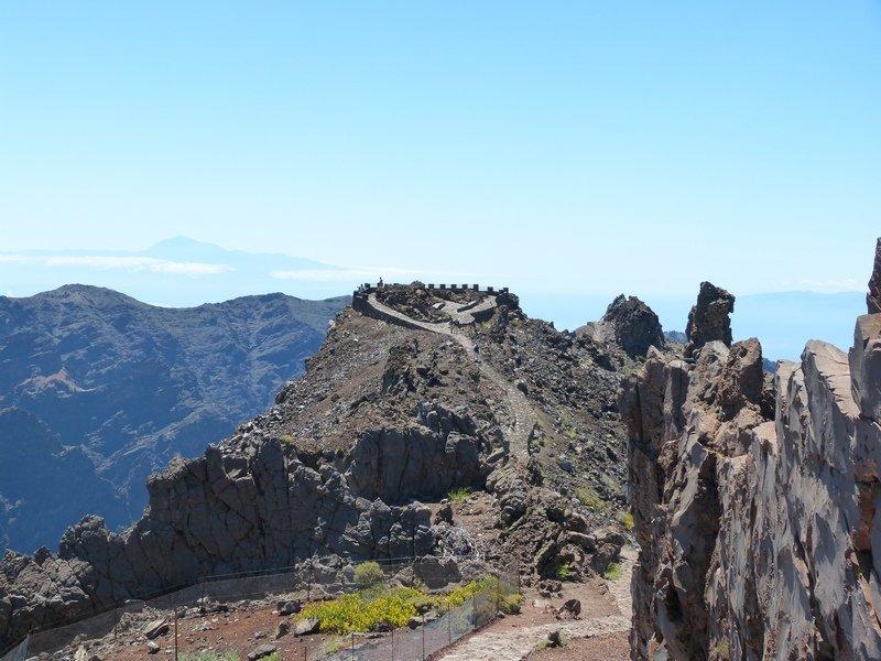 Ein Aussichtspunkt im Hochgebirge von La Palma