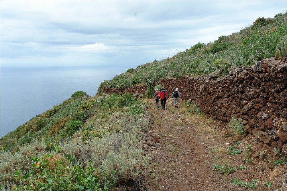 Auf dem Wanderweg PR LP 11.2,Puntagorda