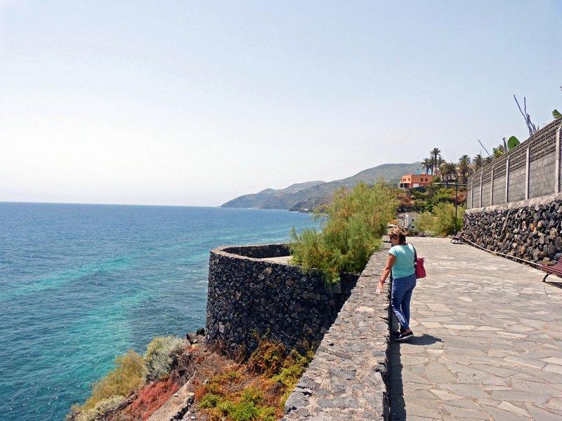 La Palma beste Reiszeit, Spaziergang in San Andrés