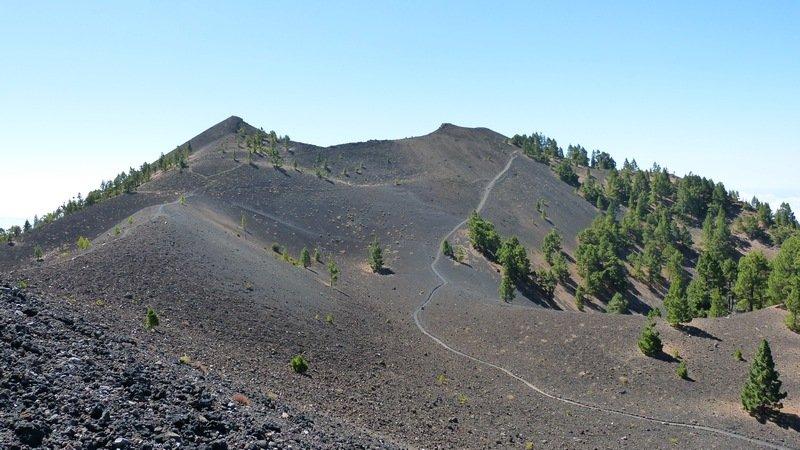 Vulkanroute La Palma-der Doppelgipfel der Deseada