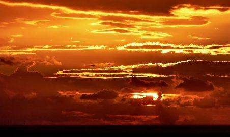 La-Palma-Anreise-Abendhimmel
