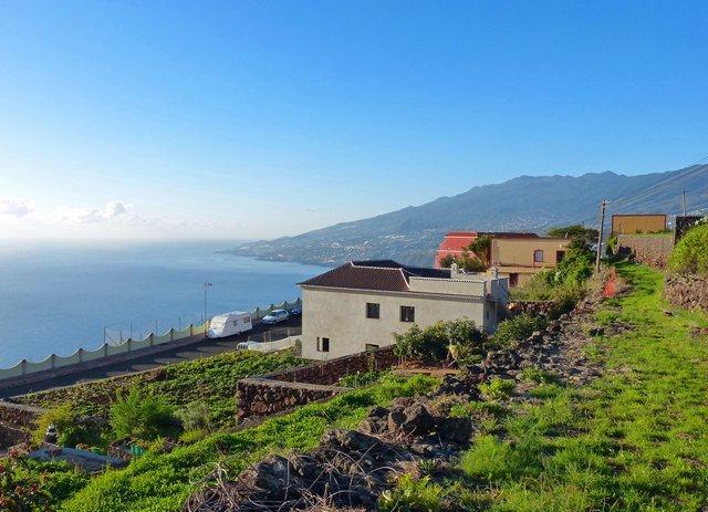 La Palma Wanderungen,Startplatz in Tenagua