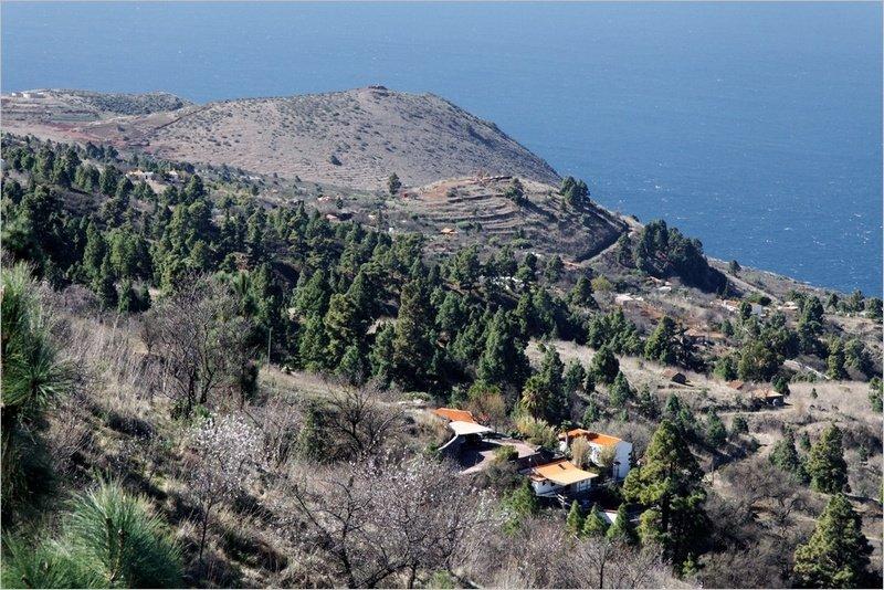La Palma Wandern, Matos aus der Ferne