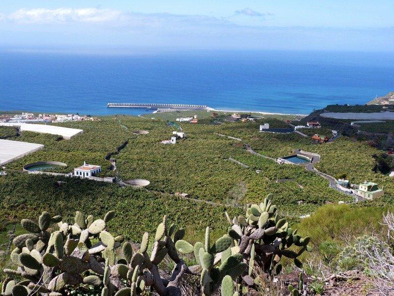 La Palma Wanderungen Ausblick nach Westen