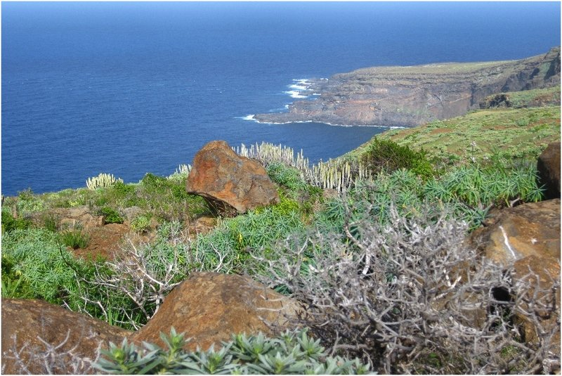 La Palma Foto-Die Nordküste von La Palma bei Santo Domingo (3)