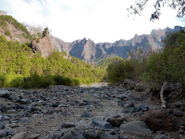 La Palma Wandern Playa de Taburiente