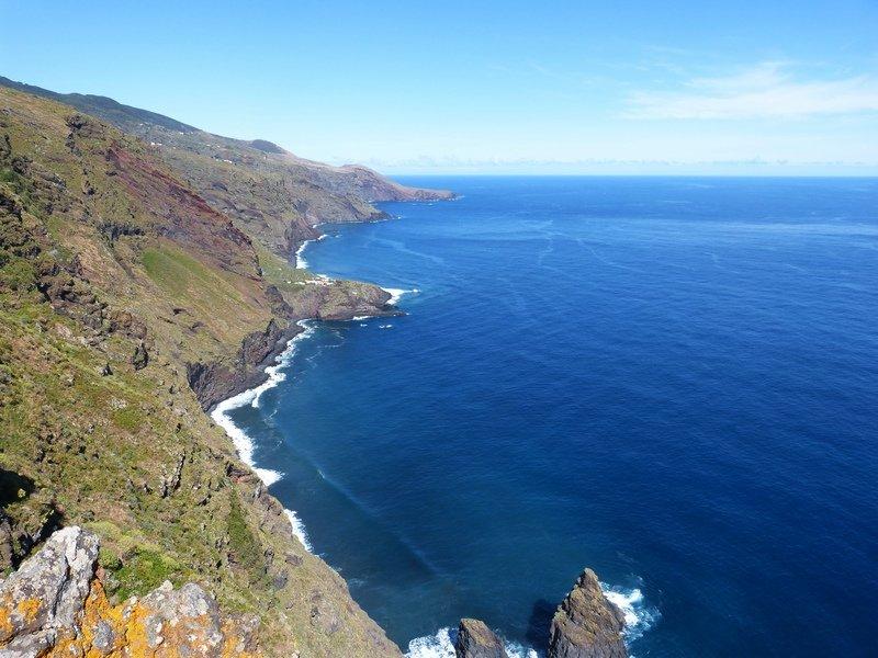 Steiküste im Norden der Insel La Palma