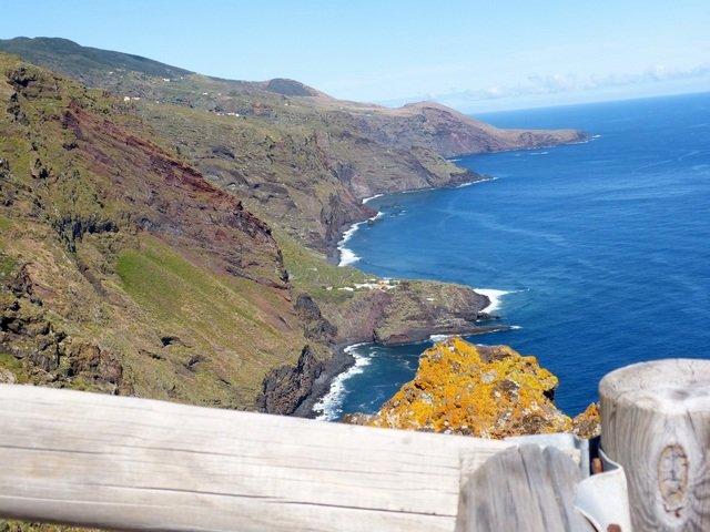Mirador de Franceses_Ausblick nach Westen La Palma