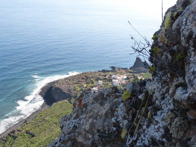 La Palma Wandern_Ausblich nach Fajana