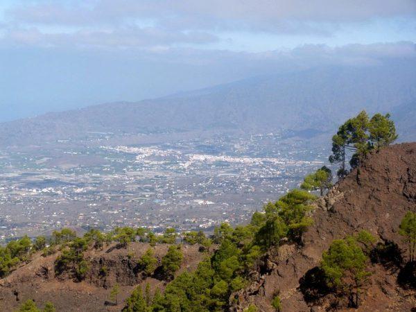 La Palma Wanderungen_Ausblick vom Vulkan Tajuya