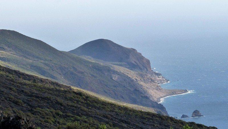 La Palma Wandern_Blick zum Azufre