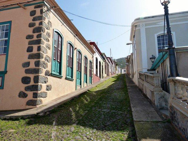 La Palma Wandern_ Startplatz der Wanderung in Santo Domingo
