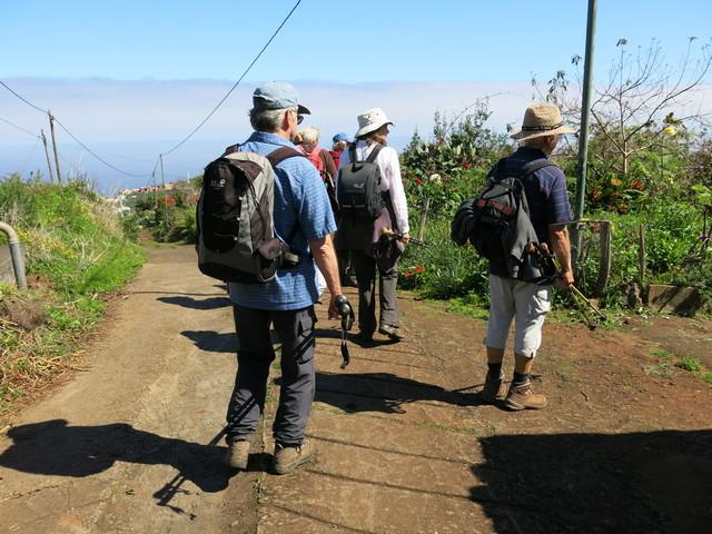 La Palma Wandern immer wieder schöne Bauerngärten