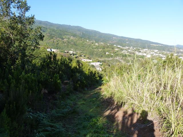 La Palma Wandern, auf dem Wanderweg SL LP 24