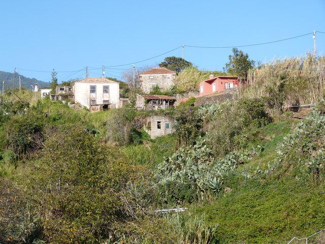 La Palma Wandern, auf dem Weg zur Corcho Quelle